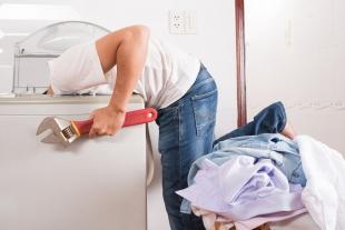 Installing washing machine
